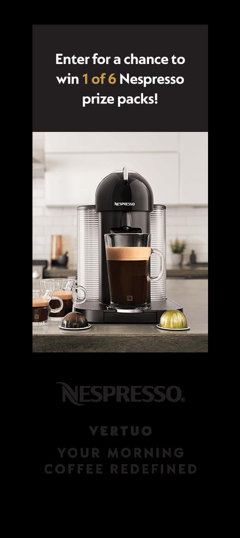 Nespresso  | HGTV Canada Contest