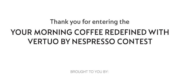 Nespresso    HGTV Canada Contest